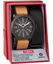 Timex TWG016200 Mens sefer izci saat hediye seti