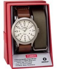 Timex TWG016100 Mens sefer izci saat hediye seti