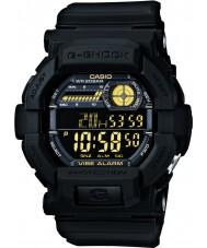 Casio GD-350-1BER Mens g-shock dünya zaman siyah izle