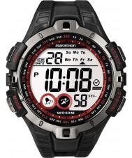Timex T5K423 kırmızı siyah maraton spor izle mens