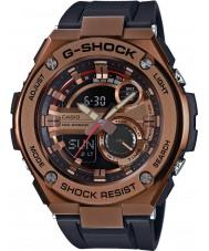 Casio GST-210B-4AER Mens g-shock otomatik ışık siyah reçine kayışı led watch