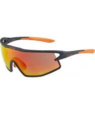 Bolle B-rock mat siyah ve turuncu tns yangın güneş gözlüğü