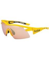 Bolle Vortex sarı tdf modülatör silah güneş gözlüğü gül