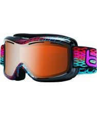Bolle 20938 Siyah elmas Monarch - modülatör narenciye silah kayak gözlüğü