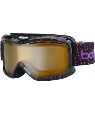 Bolle 21062 Monarch siyah pembe boncuk - modülatör narenciye silah kayak gözlükleri