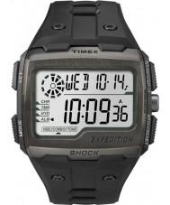 Timex TW4B02500 Erkek sefer dijital şok siyah kronograf izle