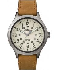 Timex TW4B06500 Erkek seferi izci kahverengi deri kayış izle