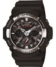Casio GA-200-1AER Mens g-shock dünya zaman siyah kronograf izle