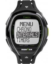 Timex TW5K96400 Ironman 150 turluk tam boy düz siyah reçine kayışı kronograf izle